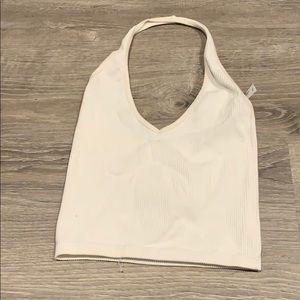Small halter top white